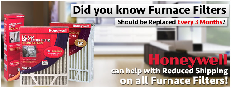 Honeywell Replacement Furnace Air Filters