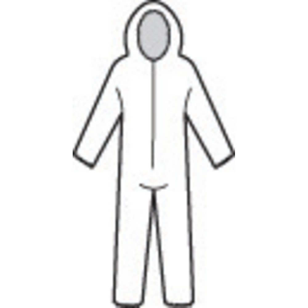 Honeywell North Gen PRO Coverall, White, Large - 35596W/L