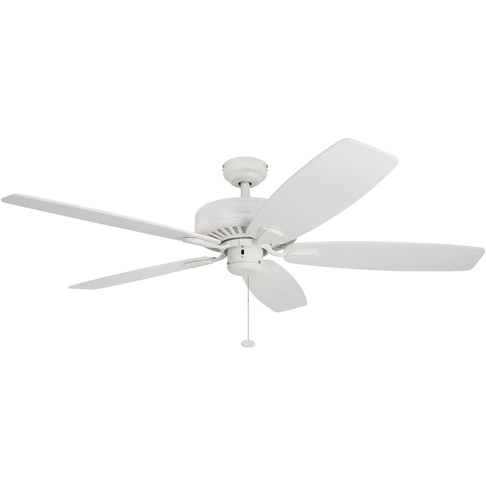 Honeywell Sutton Ceiling Fan, White Finish, 52 Inch - 50189