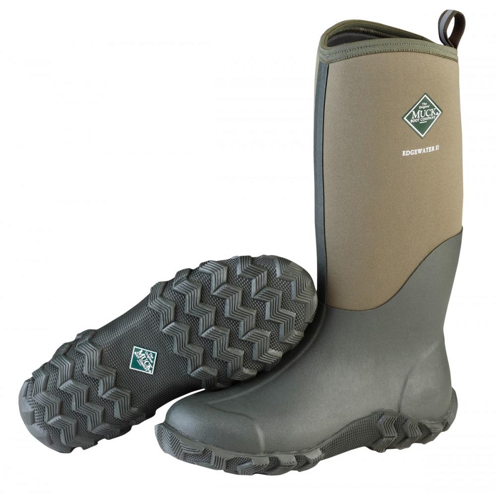 Muck Boots EW2-333T Edgewater II Tall Multi Purpose Boot Moss ...
