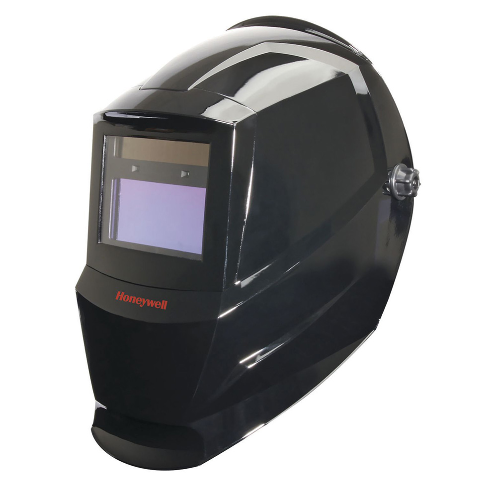 Honeywell Honeywell HW200 complete Welding Helmet with Shade 9-13 Variable Auto Darkening Filter (ADF), Color: Black - HW200