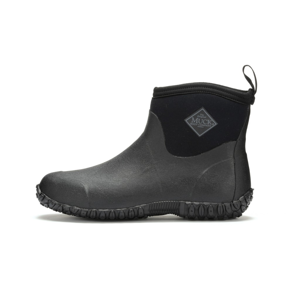Muck Boots M2A-000 Muckster II Ankle High Waterproof Boot Black ...