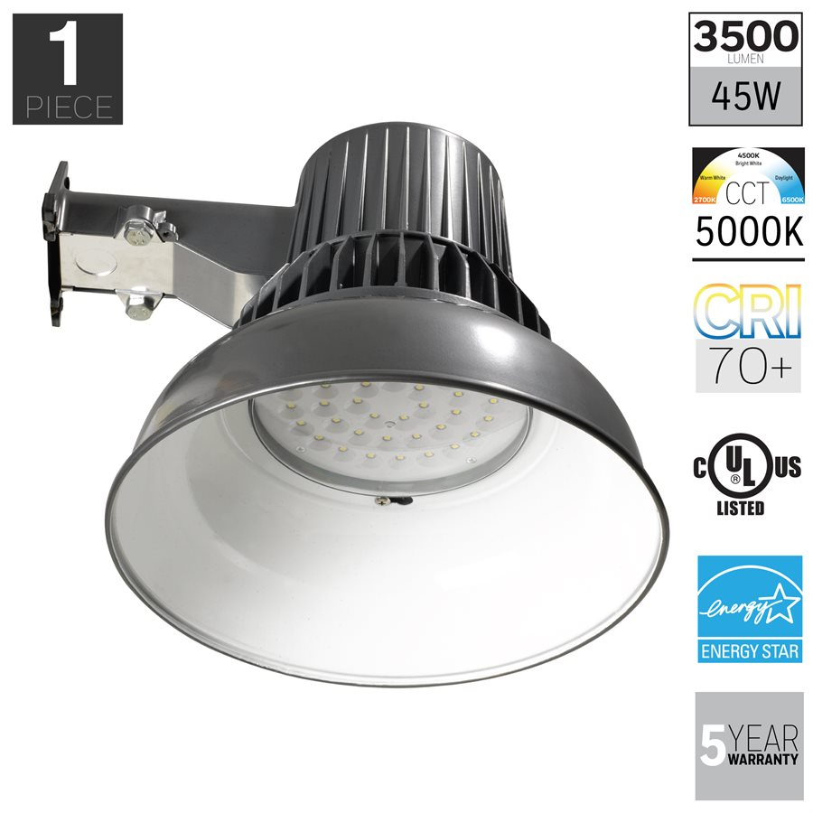 Honeywell LED Security Light In Diecast Aluminum Construction, 3500 Lumens, MA0251-82