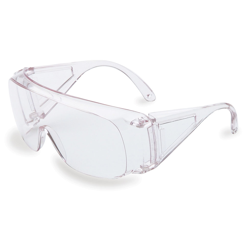 Honeywell Polysafe Wide View Safety Eyewear (Visitor Spec), Clear Frame, Clear Lens - RWS-51001