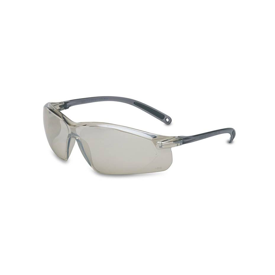 Honeywell A700 Safety Eyewear, Gray Frame, Indoor/Outdoor Mirror Lens,Scratch-Resistant Hardcoat Lens Coating - RWS-51036