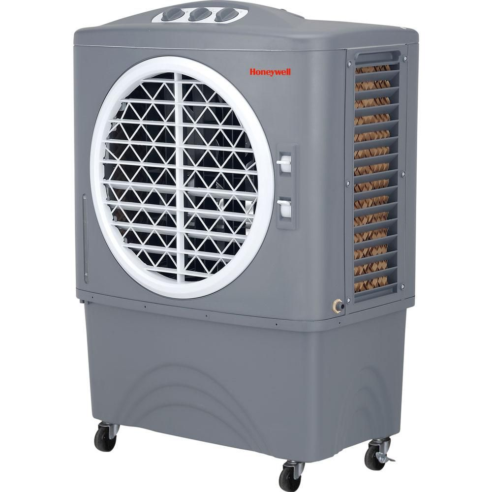 Honeywell CO48PM Evaporative Air Cooler For Indoor, Outdoor & Commercial Use - 48 Liter (White-Grey)