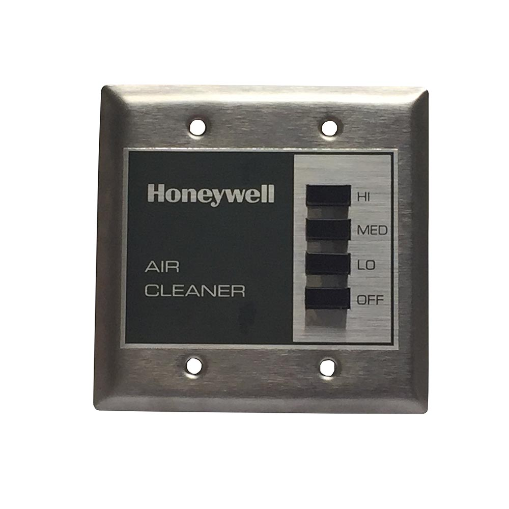Honeywell F111U1063W-3S Commercial Media Air Cleaner, 950 Cfm, UV, 99.97% Hepa Filter, 120V, White Lid