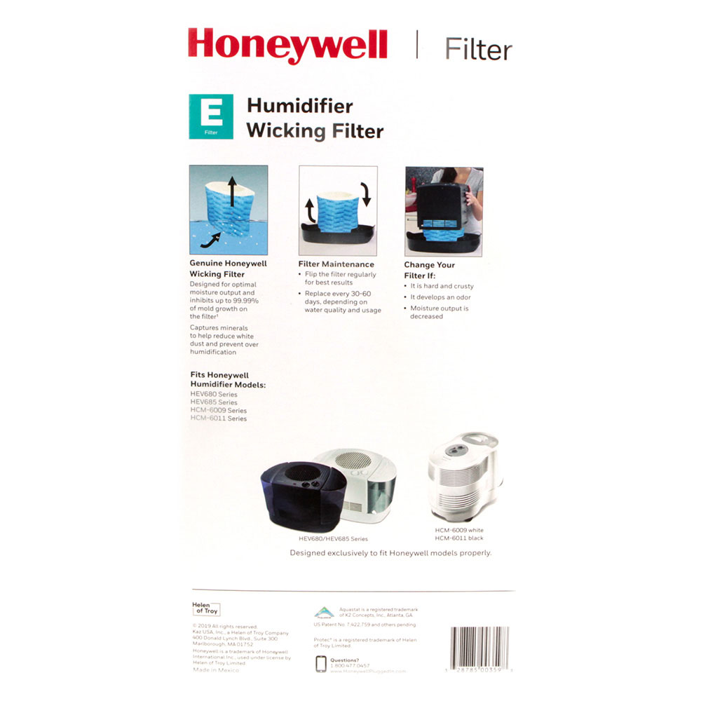 Honeywell Replacement Humidifier Filter E, HC-14