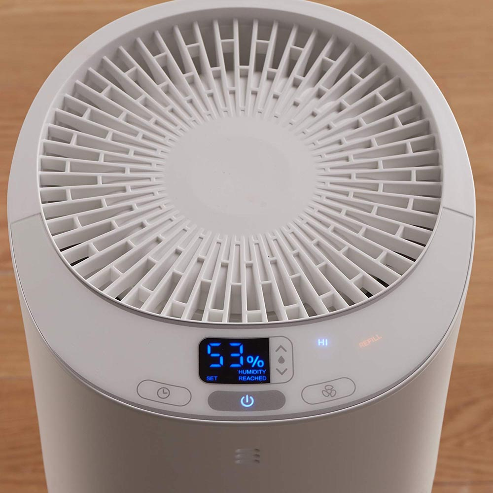 Honeywell Top Fill Cool Moisture Tower Humidifier with Digital Humidistat, HEV620W