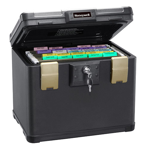 Honeywell 1106 Molded Fire/Water File Chest (.6 cu ft.)