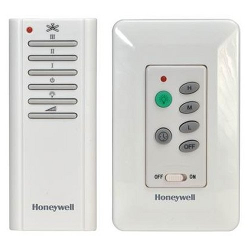 Honeywell Combo Wall and Handheld Control Ceiling Fan Remote, Model 40015