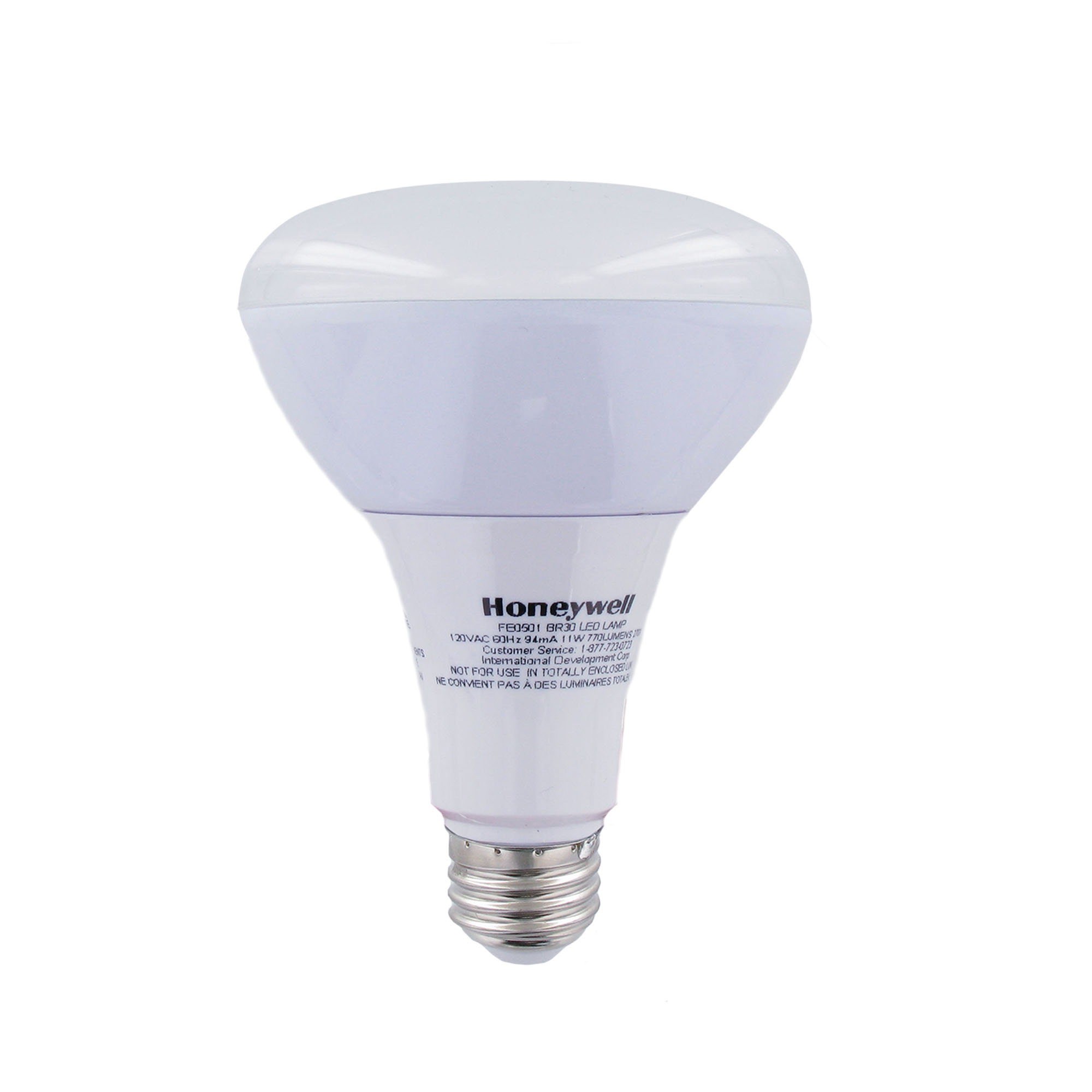 Honeywell 65W Equivalent BR30 Dimmable LED Light Bulb - 2 Pack, FE0501