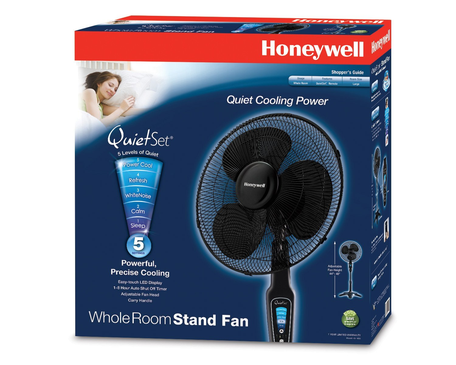 Honeywell QuietSet 16