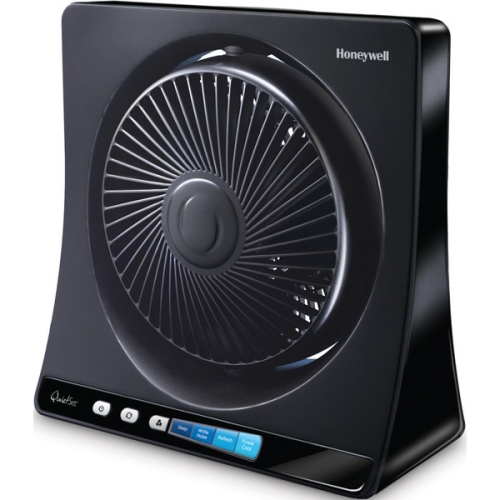 Honeywell QuietSet Table Oscillating Fan - HT350B (Black)