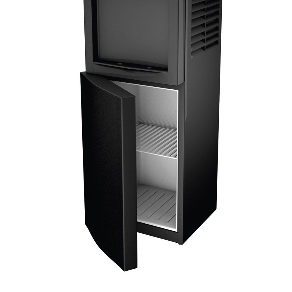 Honeywell Antibacterial Chemical-Free Technology 38-Inch Freestanding Water Cooler Dispenser, Black - HWBAP1052B2