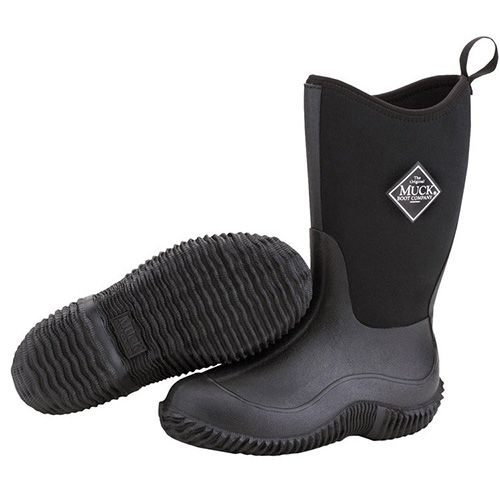 Muck Boots Kids Hale Outdoor Boot in Black, KBH-000