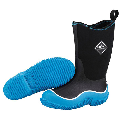 Muck Boots Kids Hale Outdoor Boot in Blue/Black, KBH-200
