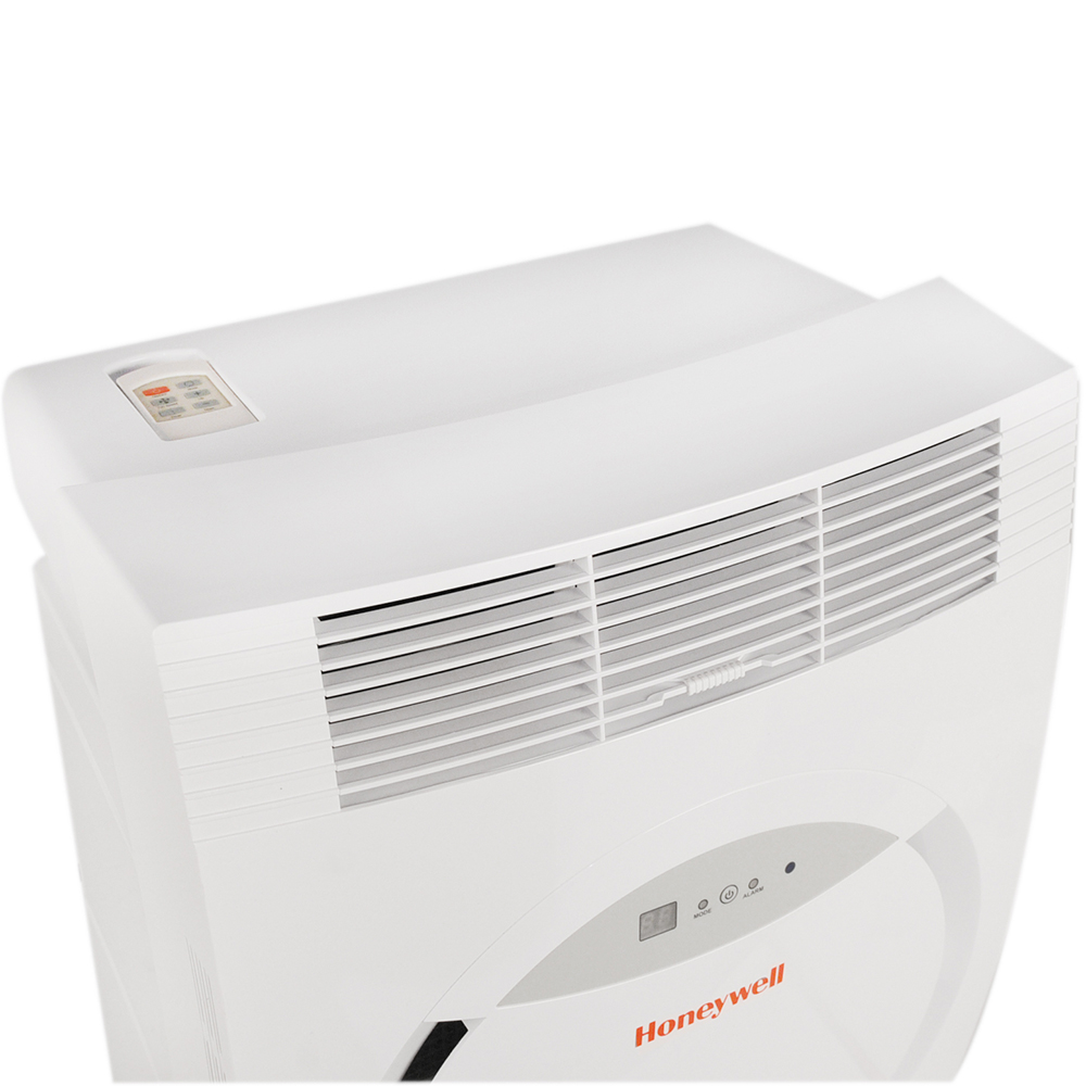 Honeywell MF08CESWW Portable Air Conditioner, 8,000 BTU Cooling, LED Display, Single Hose (White)