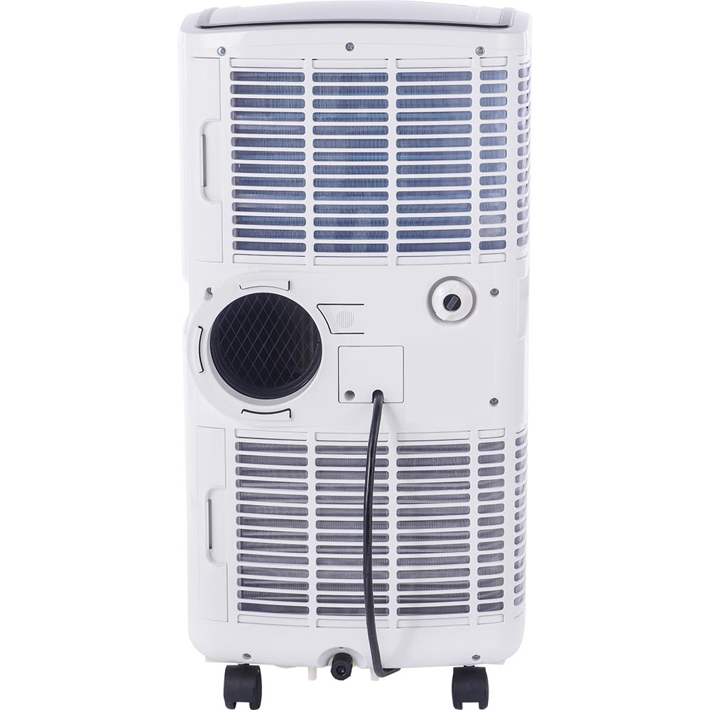 Honeywell MO08CESWK Compact Air Conditioner, 8,000 BTU Cooling, with Dehumidifier & Fan (White/Black)