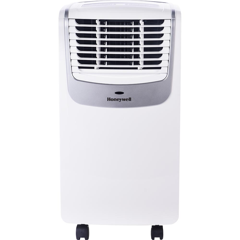 Honeywell MO08CESWS Compact Portable Air Conditioner with Dehumidifier and Fan (White/Silver)