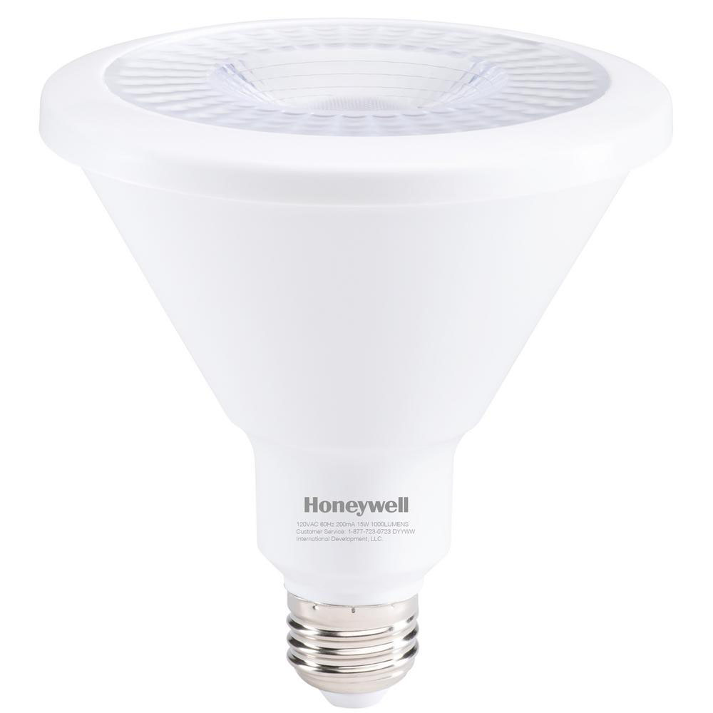 Honeywell 15W, 90W Equivalent, Warm White PAR38 LED Spot Light Bulb, Y389030HB110