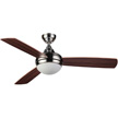 Honeywell Salermo Ceiling Fan with Remote, Satin Nickel, 48 Inch - 10285