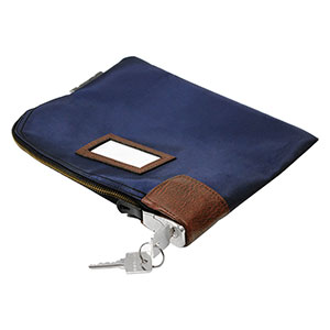 Honeywell 6505 Key Locking Security Cash & Document Zipper Bag