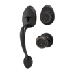 Honeywell Classic Door Knob Handleset, Oil Rubbed Bronze, 8101407