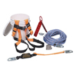 Honeywell Complete Roofer's Fall Protection System, 100-ft. lifeline BRFK100-Z7