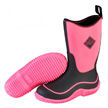 Muck Boots Kid's Hale Outdoor Sport Boot, Neon Black/Pink, KBH-401