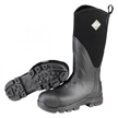 Muck Boots Muck Grit Steel Safety Toe Work Boot, Black, MGST-000