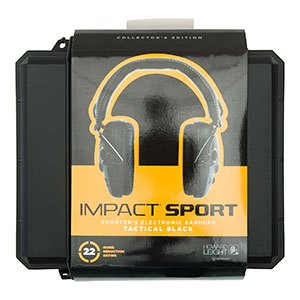 Honeywell Impact Sport Tactical Sound Amplification Earmuff w/ Case - R-02601