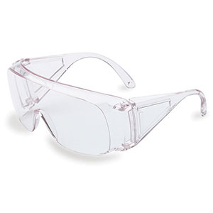 Honeywell Polysafe Wide View Safety Eyewear, Clear Frame, Clear Lens - RWS-51001