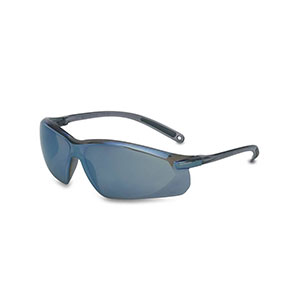 Honeywell A700 Safety Eyewear, Blue Frame, Blue Mirror Lens- RWS-51035