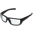 Honeywell HS200 Safety Eyewear, Retro styled, Matte Black Frame, Clear Lens, Scratch-Resistant Hardcoat Lens Coating - RWS-51067
