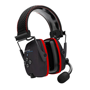 Honeywell Wireless Hearing Protector Earmuffs With Bluetooth Audio - RWS-53016