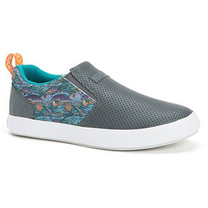 XTRATUF Women's Fishe®Wear Groovy Grayling Sharkbyte Deck Shoe, Gray - XSW-7GG