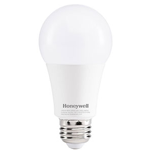Honeywell 75W Equivalent Daylight White A19 LED Light Bulb, A197550HB110