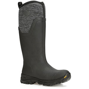 Muck AS2TV-100 Arctic Ice Tall Boot, Black / Heather Jersey