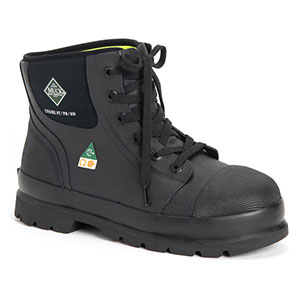 Muck C6ST-CSA Chore Classic 6 In Boot Csa-Steel Toe Boot, Black