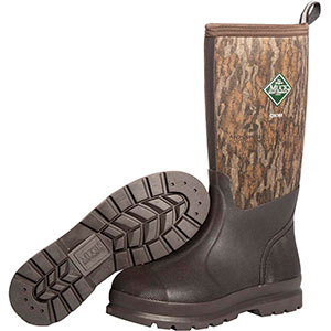 Muck Men's Chore Hi Boot, Brown / Bottomland - CHH-MOB