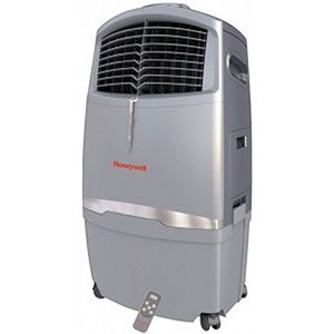 Honeywell CL30XC 63 Pt. Indoor Portable Evaporative Air Cooler with Remote Control (Grey)