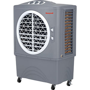 Honeywell CO48PM In/Outdoor Commerical Evaporative Air Cooler, 1062 CFM (Gray)