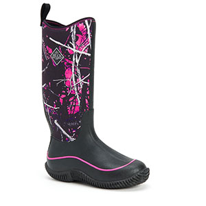 Muck HAW-MSMG Hale Camo Boot, Black / Muddy Girl Camo