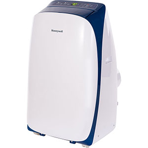 Honeywell HL12CESWB Portable Air Conditioner 12,000 BTU Cooling (White-Blue)