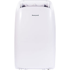 Honeywell HL12CESWW Portable Air Conditioner 12,000 BTU Cooling, LED Display, Single Hose (All White)