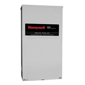 Honeywell RTSM400A3 Single Phase 400 Amp/240 Volt Sync Transfer Switch