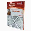 Honeywell CF108A1620/A Standard Air Cleaning 1 Inch Filter MERV 8 - 16x20x1