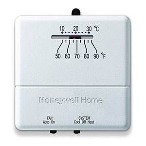 Honeywell CT31A1003/E Heat and Cool Non Programmable Thermostat