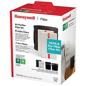 Honeywell HRF-ARVP True HEPA Filter Value Combo Pack (2 HEPA filters and 1 Pre-f
